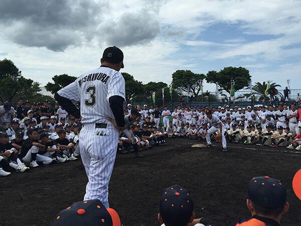 第8回五島大会【まさかりドリームスによる野球教室】